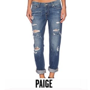 Paige Jimmy Jimmy Skinny Destroyed Jeans